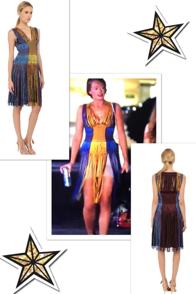 Kathryn Dennis wearing a Missoni Multi Colored Fringe Dress