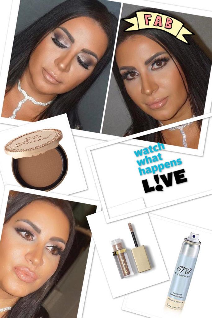 Mercedes Javid's Makeup on Watch What Happens Live