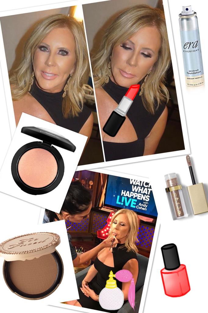 Vicki Gunvalson's Makeup on Watch What Happens Live