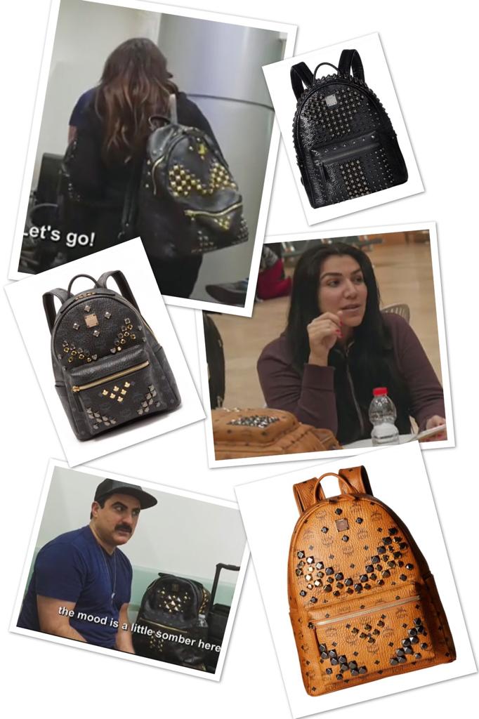Shah's of Sunset Studded Backpacks