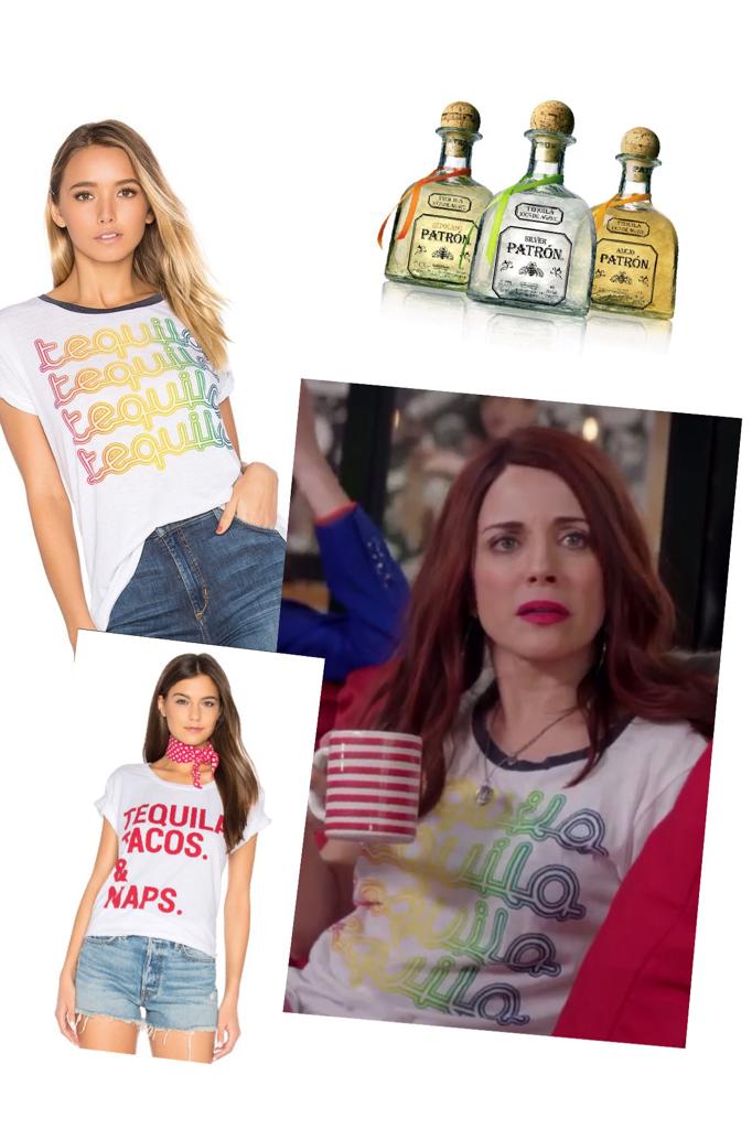 Jo Hernandez Frumpkis' Tequila Tee Shirt