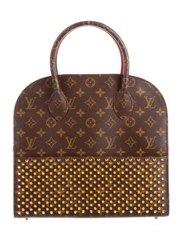 Vicki Gunvalson's Studded Louis Vuitton Iconoclast Tote