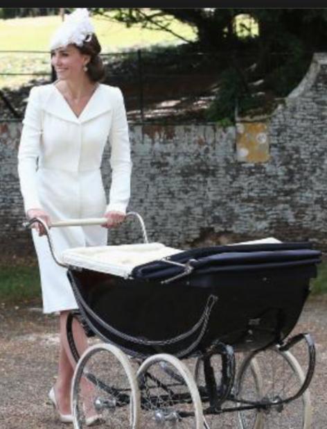 Kim Zolciak Biermann's Vintage Baby Stroller