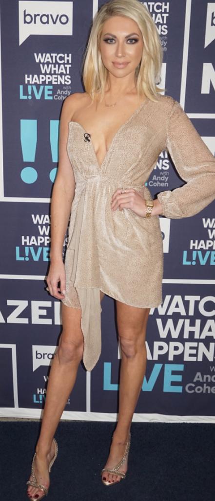 Stassi Schroeder's Makeup on WWHL