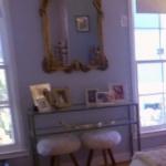 Stassi Schroeder's Gold Antique Baroque Mirror in Her Apartment