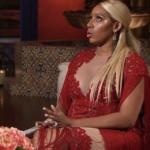 Nene Leakes' Red Fringe Reunion Dress