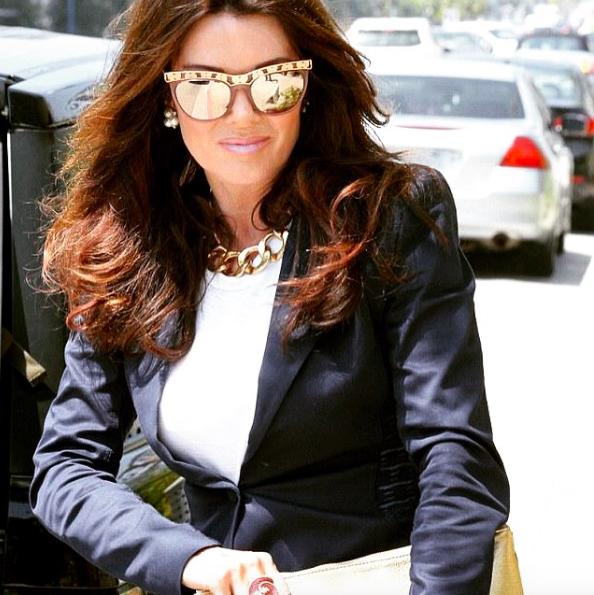 Lisa Vanderpump Sama Cara Sunglasses