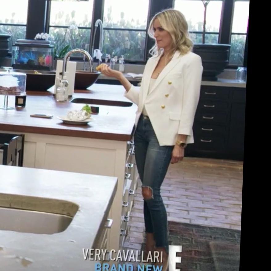 Kristin Cavallari's White Blazer