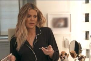 Khloe Kardashian's Black Pajamas
