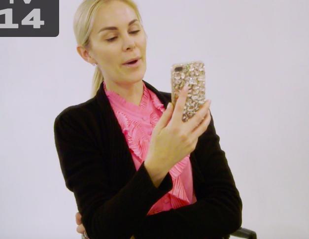 Kameron Westcott's Jeweled Phone Case