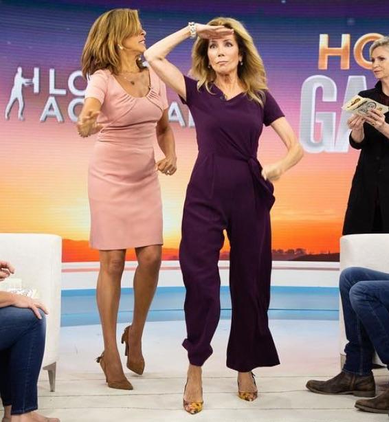 Kathie Lee Gifford's Purple Jumpsuit