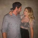 Stassi Schroeder's Sheer Top on Instagram