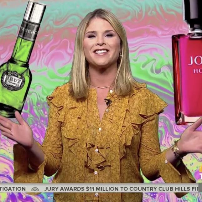 Jenna Bush Hager's Yellow Ruffle Top