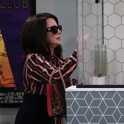 Karen Walker's Black Sunglasses