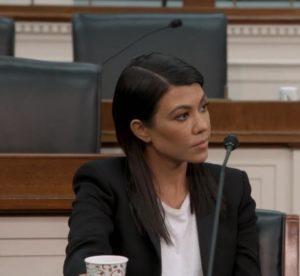 Kourtney Kardashian's Black Blazer in Washington, D.C.