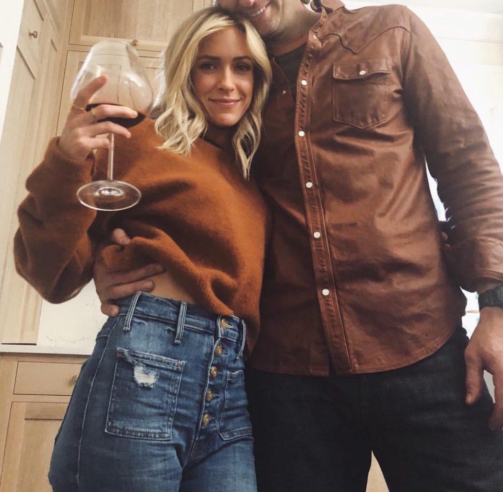 Kristin Cavallari's Brown Sweater on Instagram