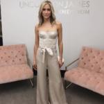 Kristin Cavallari's Satin Bustier and Pants on Instagram