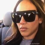 Melissa Gorga's Black Sunglasses In Oklahoma