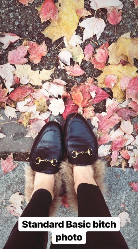 Stassi Schroeder's Fur Shoes in Berlin