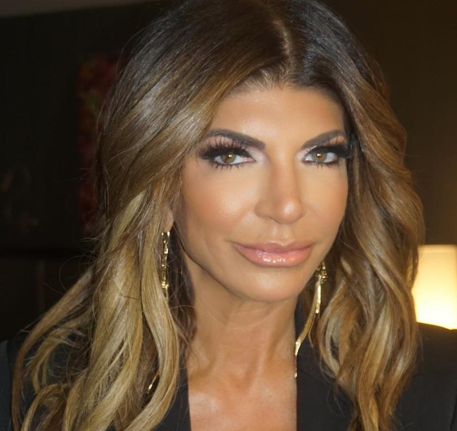 Teresa Giudice's Makeup on Extra and Good Morning America