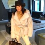 Bethenny Frankel's Cat Jacket on Instagram