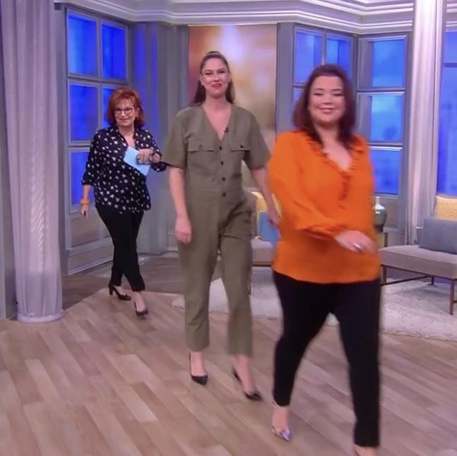 Abby Huntsman's Green Jumpsuit