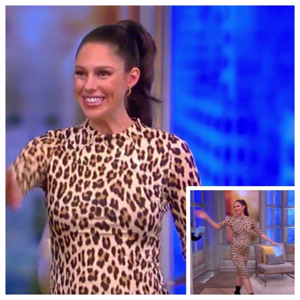 Abby Huntsman's Leopard Print Dress