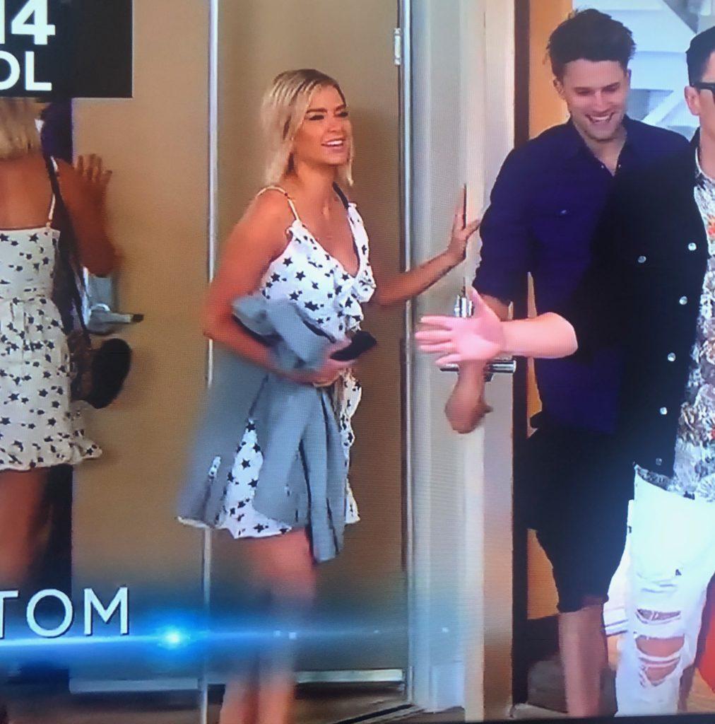 Ariana Madix's Star Print Dress