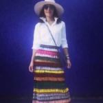 Bethenny Frankel's Tassel Maxi Skirt