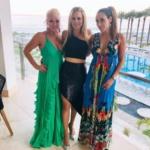 Jackie Goldschneider's Asymmetrical Sequin Skirt in Mexico