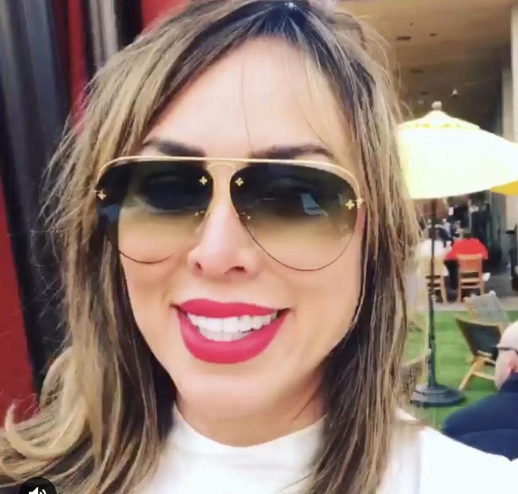 Kelly Dodd's Red Lipstick on Instagram