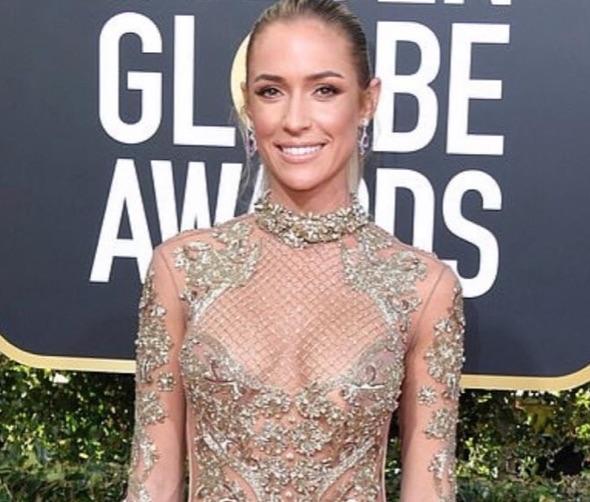 Kristin Cavallari's Makeup at the Golden Globes