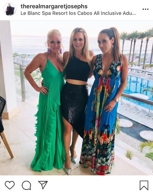 Margaret Josephs' Green Maxi Dress in Mexico