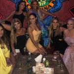 Melissa Gorga's Yellow Dress in Mexico