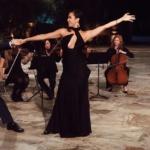 Sydney Lotuaco's Black Cutout Dress