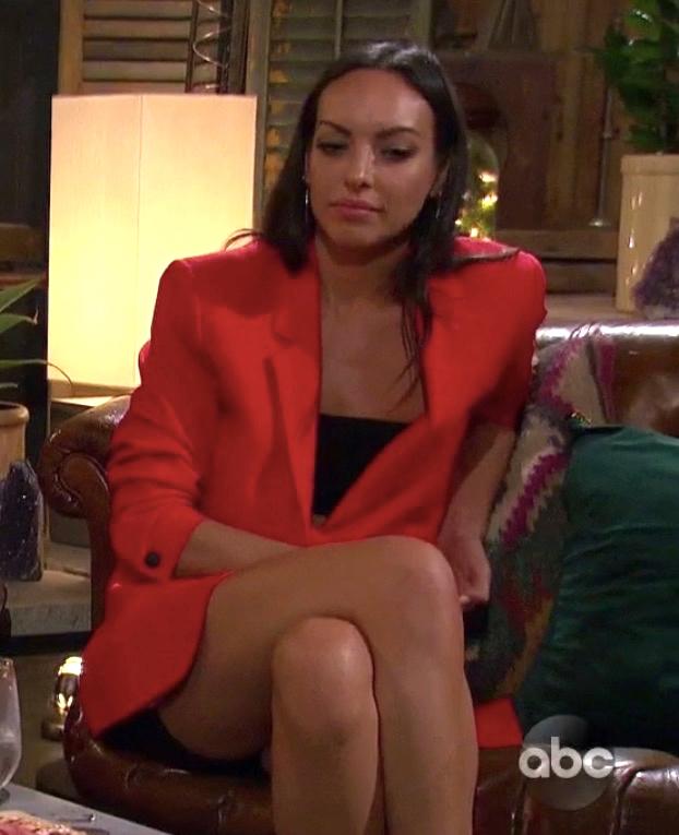 Tracy Shapoff's Red Blazer Dress