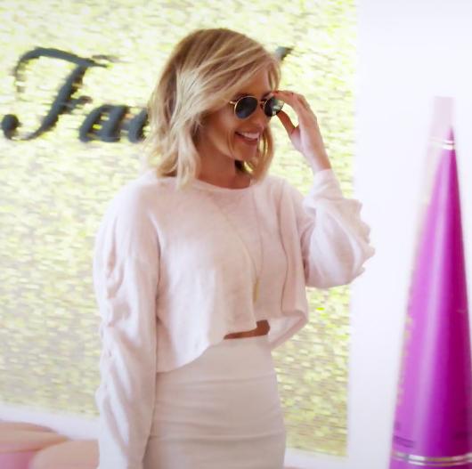 Tracy Tutor Maltas' Lace Up Sleeve Top