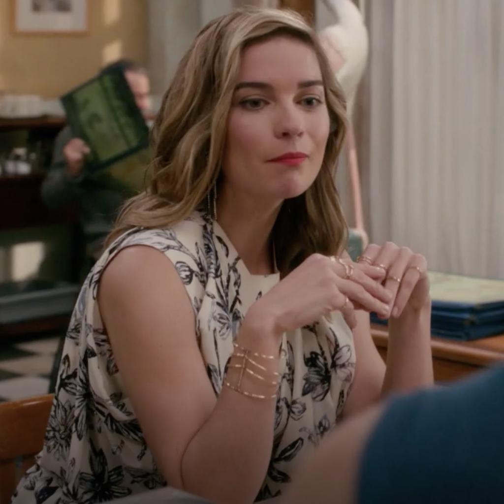 Alexis Rose's Gold Cuff Bracelet
