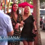 Ariana Madix's Black One Shoulder Ruffle Dress