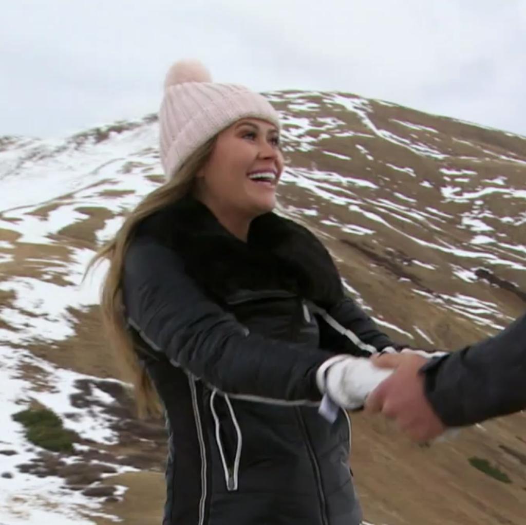 Caelynn Miller-Keyes' Black Ski Jacket