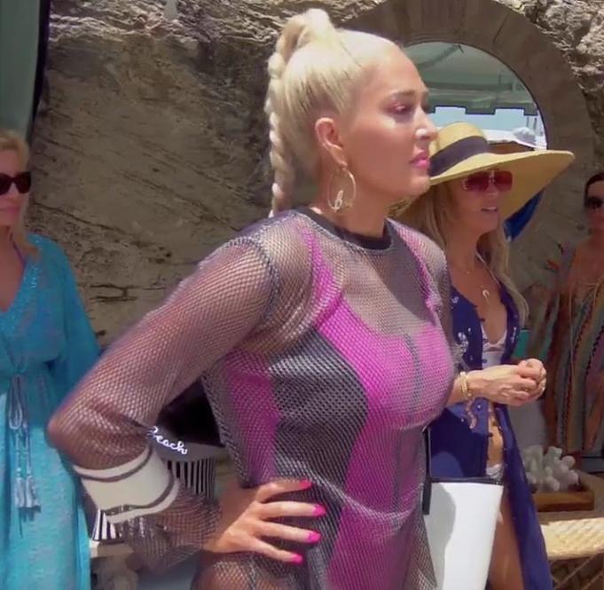 Erika Jayne Girardi's Hot Pink Swimsuit