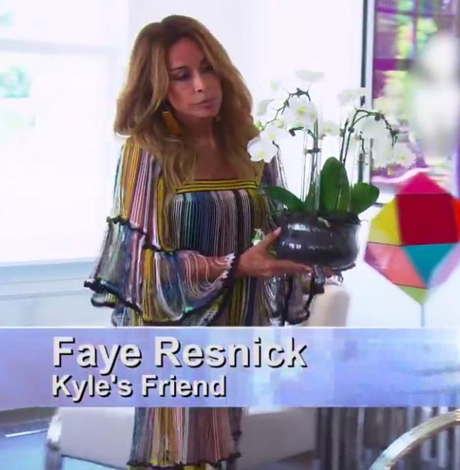 Faye Resnicks' Fringe Dress