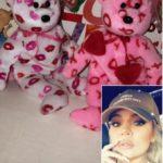 Khloe Kardashian's Valentine Beanie Baby Bears On Instagram Stories