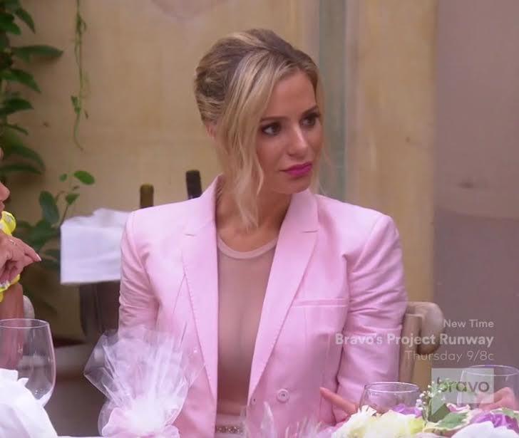Dorit Kemsley's Pink Blazer