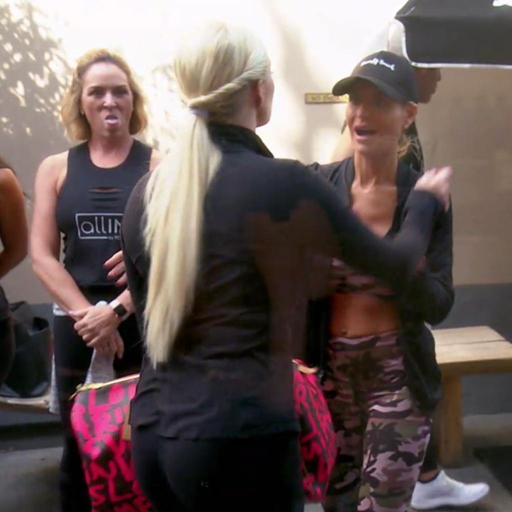 Erika Jayne Girardi's Bag at Spinning