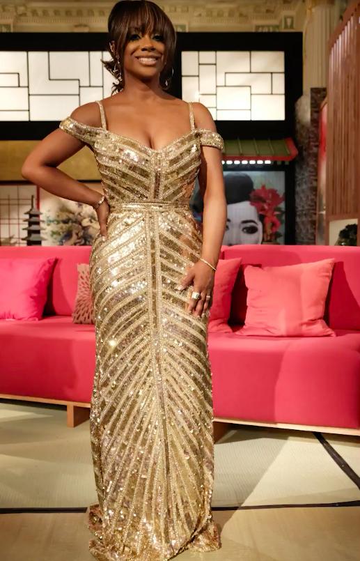 Kandi Burruss' Season 11 Reunion Dress