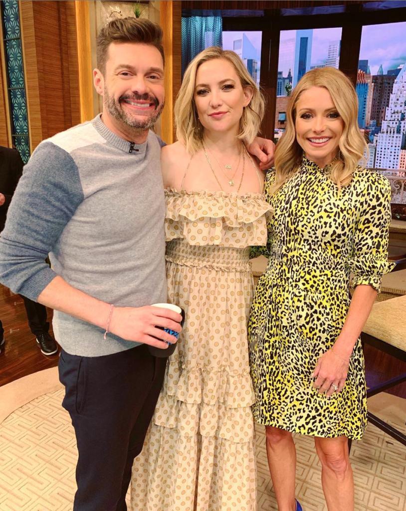Kelly Ripa's Leopard Mini Dress