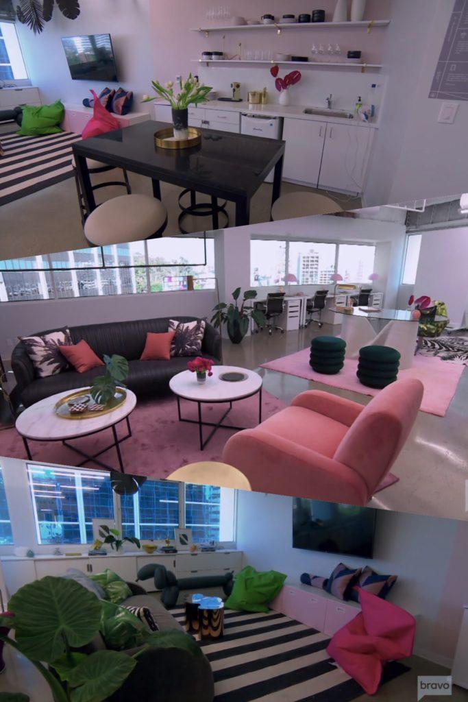 Dorit Kemsley's Beverly Beach Showroom Furniture and Decor