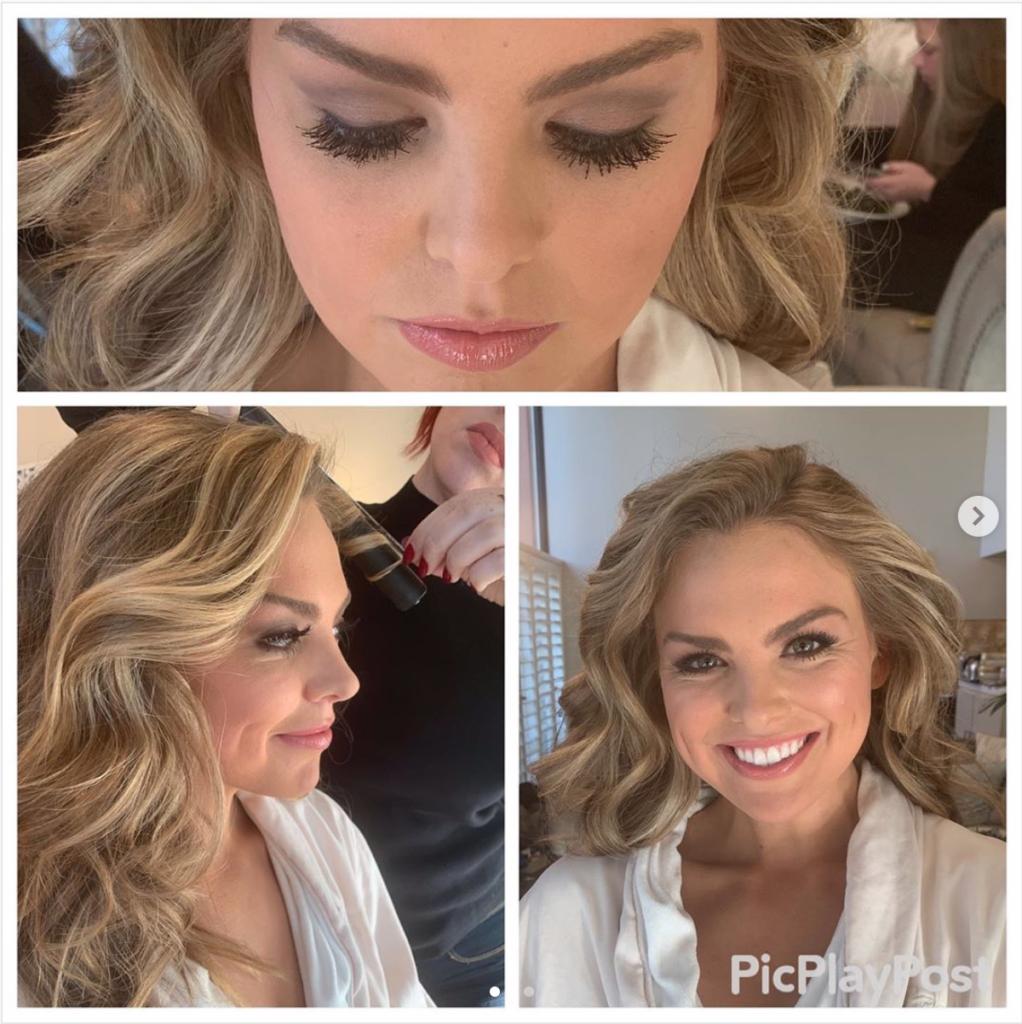 Hannah Brown's Makeup