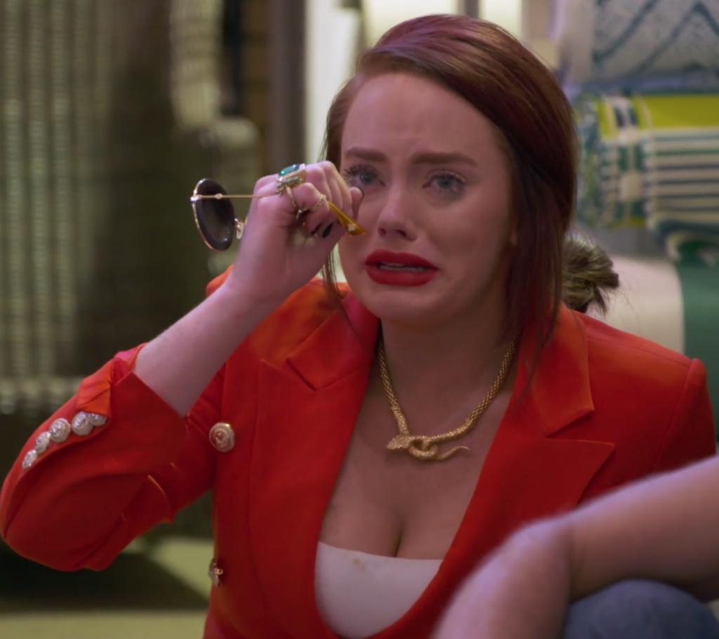 Kathryn Dennis' Red Blazer